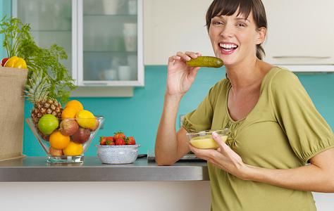 Пищевые причуды беременных