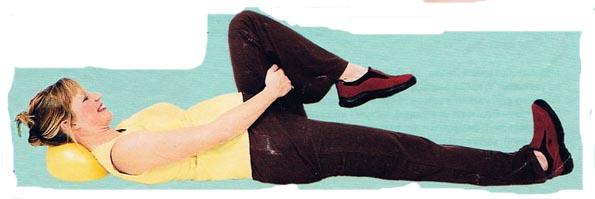 Упражнения для беременных на полу
