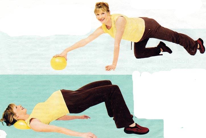 Как можно использовать беременным мяч